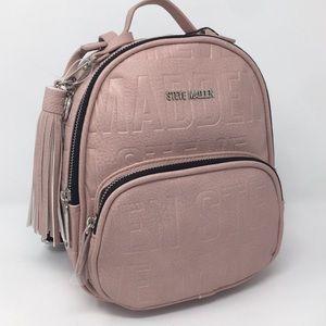 STEVE MADDEN Mini pink backpack